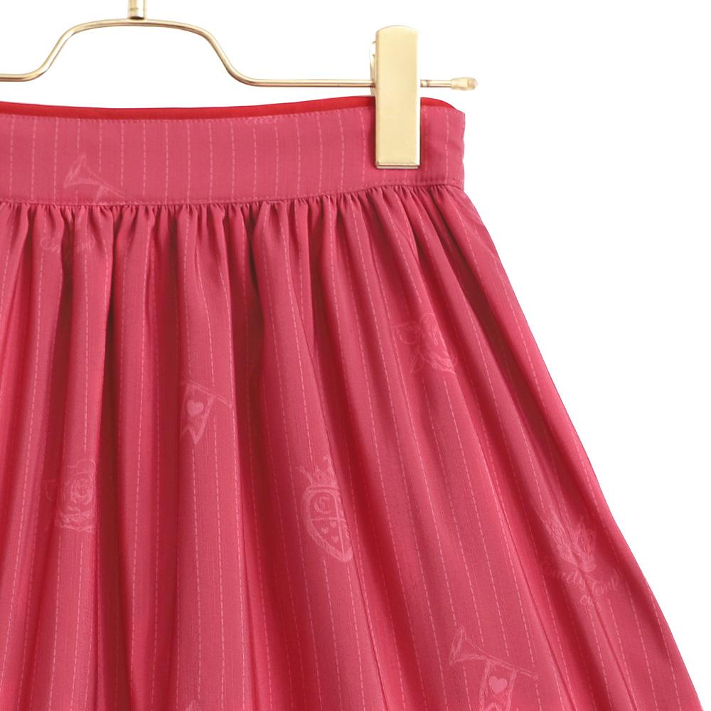 Painting Rose ロングスカート (Painting Rose long skirt)