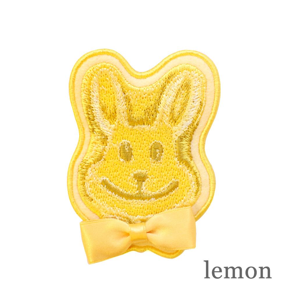 ロリポップバニーワッペン (lollipop bunny brooch)