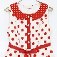ポルカDotワンピース(Polka Dot dress)