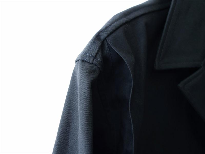 HAVERSACK ハバーサック/ ダブルポケットシャツジャケット/ ネイビー