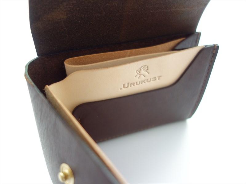 .URUKUST ウルクスト/ STW-03 Bifold Wallet/ ダークブラウン