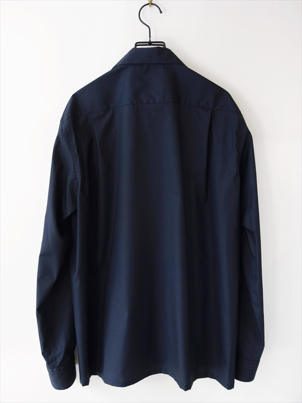 KIMURA キムラ/ 20needles/CUBA shirt LS/ ネイビー
