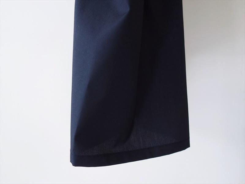 KIMURA キムラ/ 20needles/CUBA shirt HS/ ネイビー