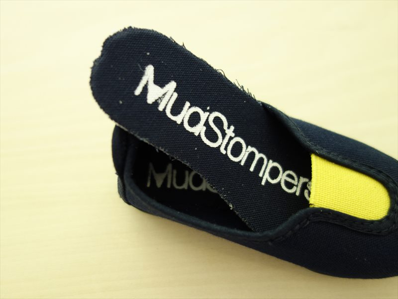 "La Cadena ラ・カデナ/ ""MudStompers"" SLIP-ON/ マリン×イエロー"