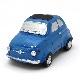NUOVA 500 マグネットミニチュアモデル(ブルー)