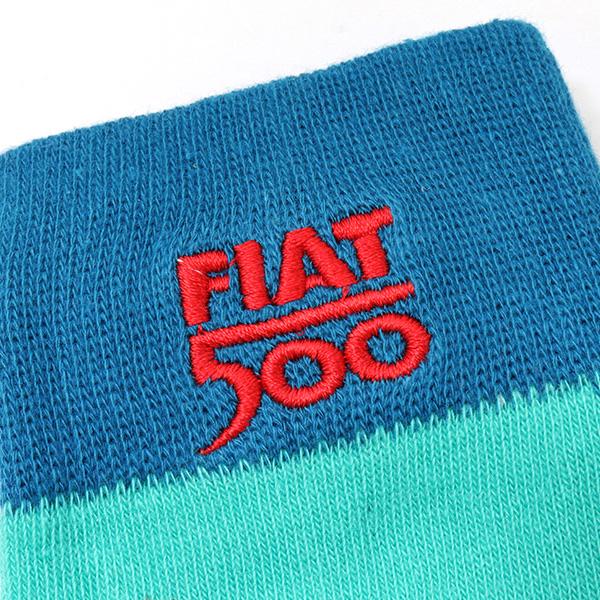 NUOVA 500 ソックス(グリーン)(サイズ37-40)