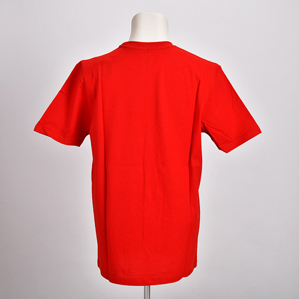 NUOVA 500 グラフィック Tシャツ(レッド)(Sサイズ)