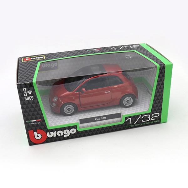500 RED Burago(1/32サイズ)