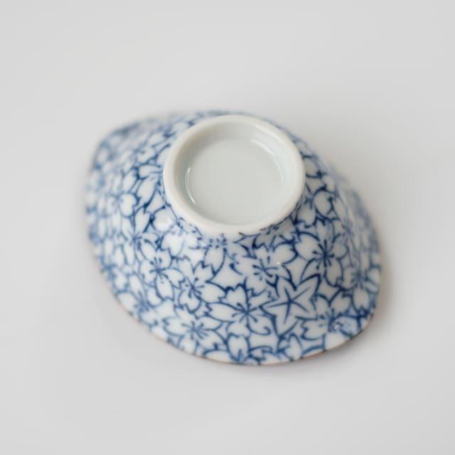 花模様 楕円小鉢