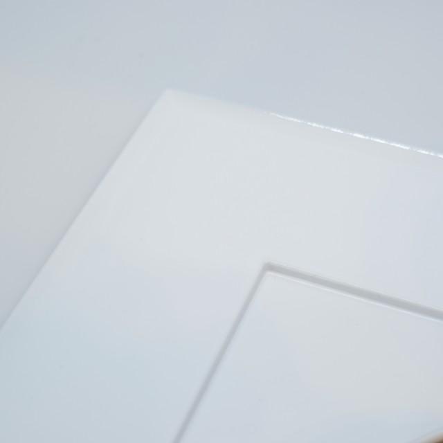 越前塗 42cm炉縁プレイスマット ホワイト(白)
