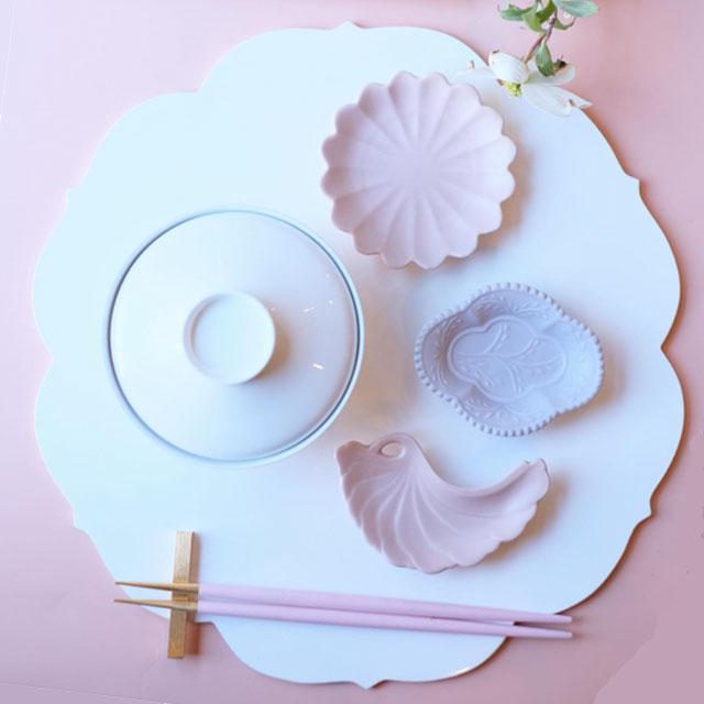 越前塗 FLEUR-OSHIKI ホワイト
