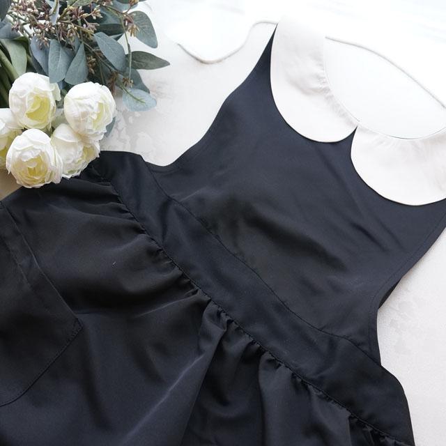 ROYALエプロン BLACK×WHITE