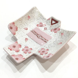 【次回2月入荷】有田焼 虹彩桜 着物銘々皿