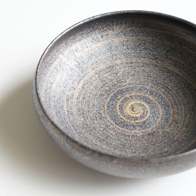 有田焼 結晶金彩 7寸鉄鉢