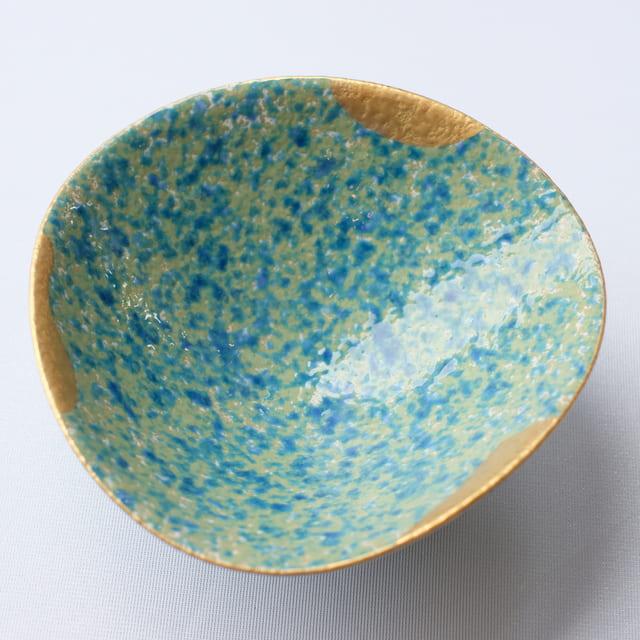 有田焼 もえぎ金彩 小鉢