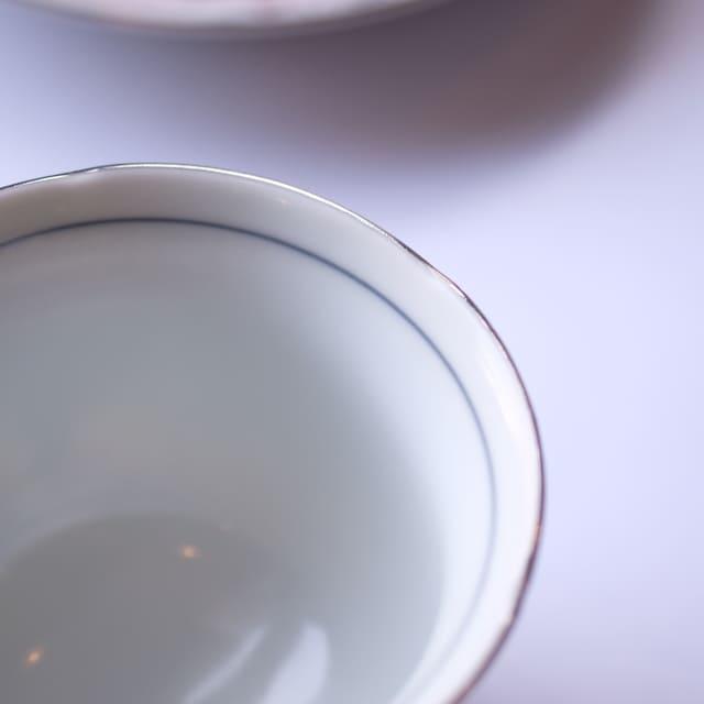 波佐見焼 葉月珈琲碗皿 beni