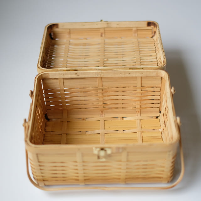 白竹 ピクニックバスケット