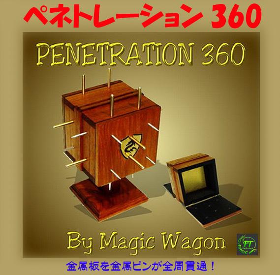 ペネトレーション360(金属板をスパイクが貫通)