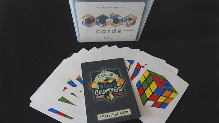 キューブカード(キューブもカードもあり得ない一致)