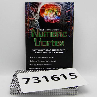 ニューメリック・ボルテックス(選んだ6桁の暗証番号を読み取る)