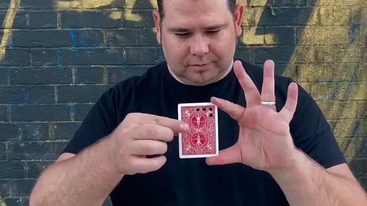 マトリックスアート(カードの穴が移動)