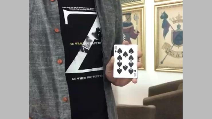 ミッシングカード(カードが驚きの瞬間変化)