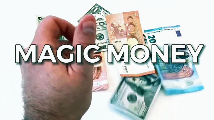 マイ・マジックマネー(お札の変化・入れ替わり・貫通)日本円ギミック付