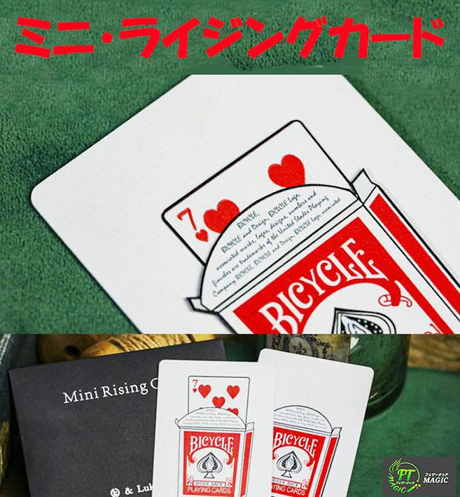 ミニ・ライジングカード(カーディオグラフィック:トランプのミニバージョン)