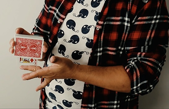 ボルテ・フェイス(カードが名刺に変化)