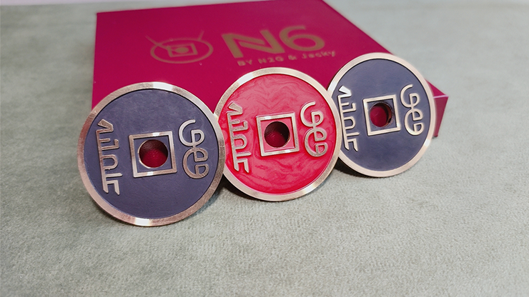 N6コインセット(検め可能なコインで瞬間変化・移動・貫通)