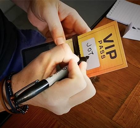 VIPパス(サインカードがパスケースに)