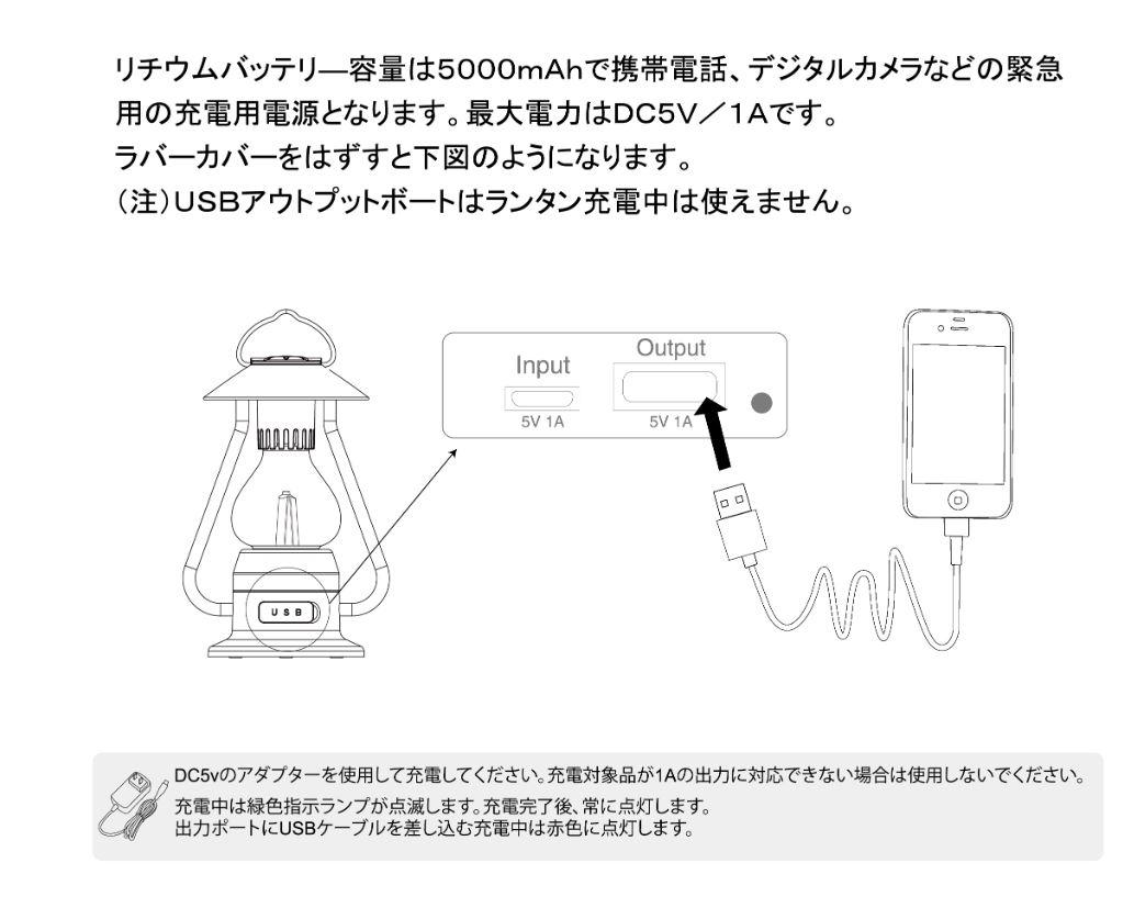 The 5 Elements Bluetoothスピーカー付き山小屋風LEDランタン(イエロー)