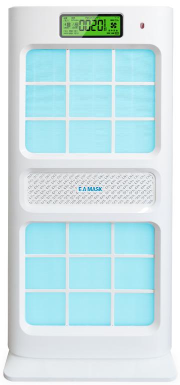 空気清浄機「EK-030Plus」<br>二酸化塩素のチカラで快適な空間に!<br> 健康と清潔で快適な環境の為に!