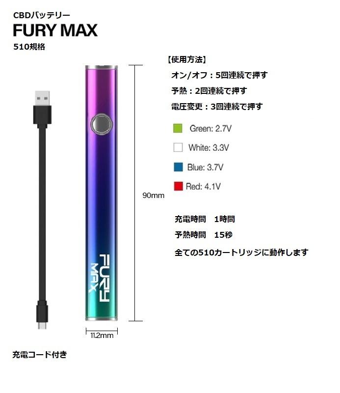 CBDバッテリー510規格