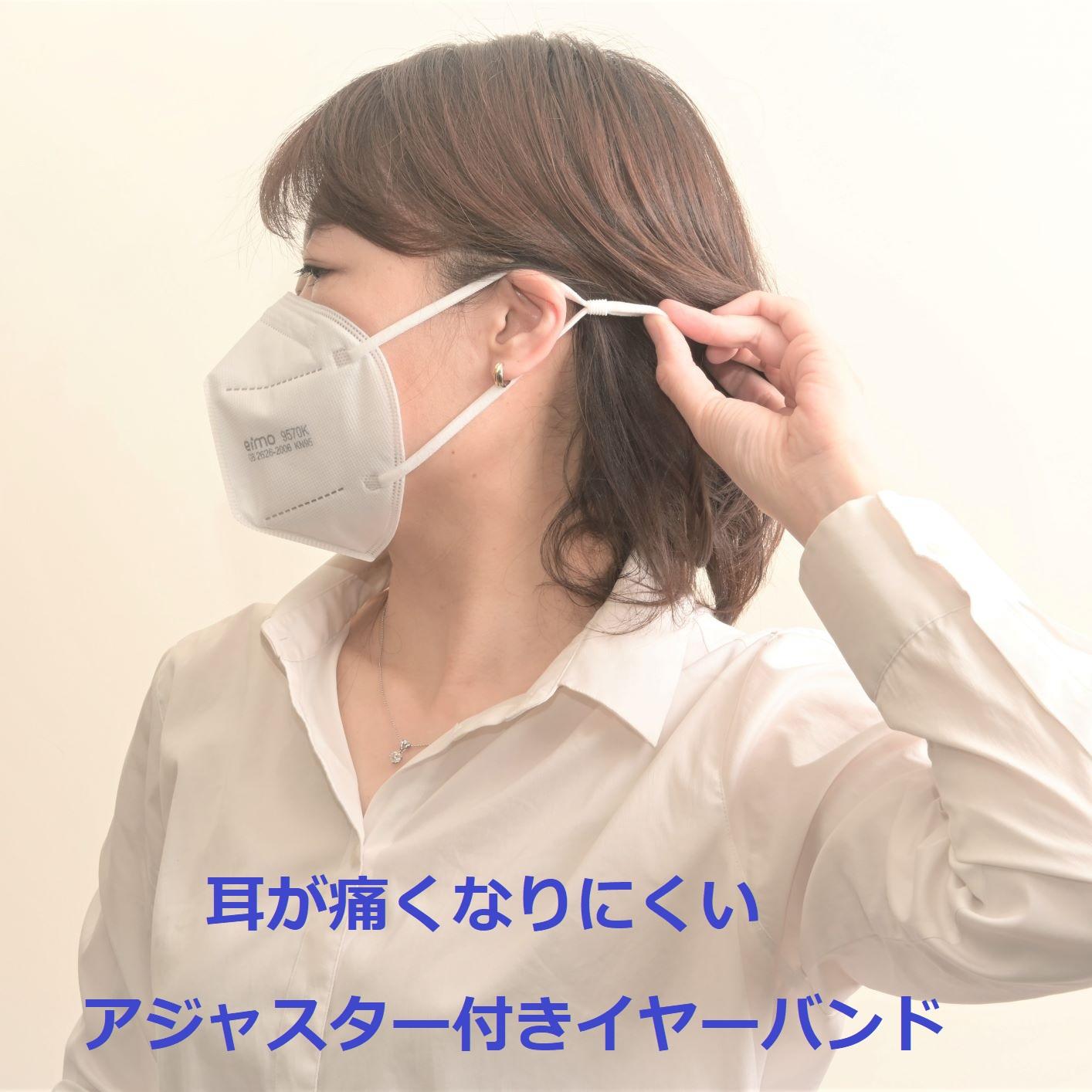 銀+銅イオン抗菌 微粒子用マスク/少量パック