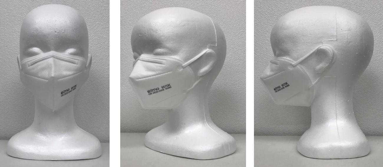 微粒子用マスク/銅・銀イオン抗菌フィルター/空気感染対策
