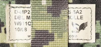 17040452 激レア!! EAGLE製 MOLLE ダブルMP7シングルマガジンポーチ *AOR2色/2008年/カイデックス