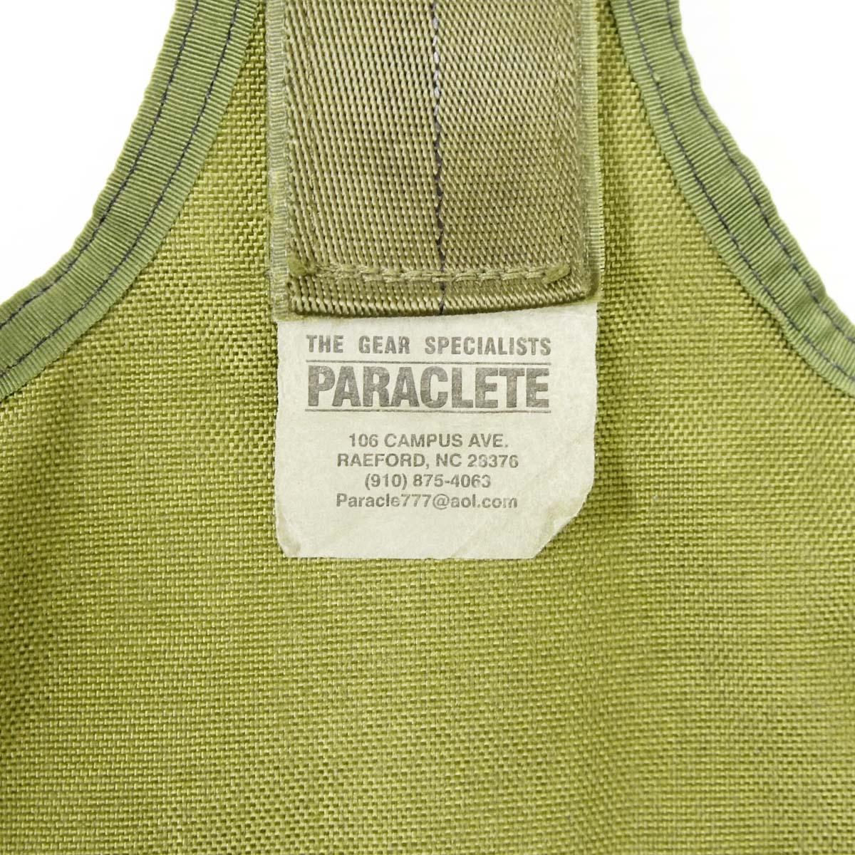20080295-7 PARACLETE サイホルスターパネル *OD/初期タグ/1999年・2000年製YKKバックル/●ホルスターパーツ欠品