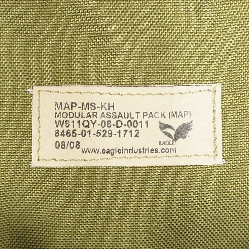 20080312 EAGLE MAP モジュラーアサルトパック *カーキ/2008年製