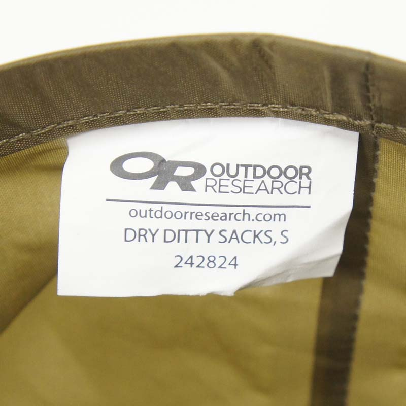 20080323-1 OUTDOOR RESEARCH DRY DITTY SACKS *コヨーテ/Sサイズ