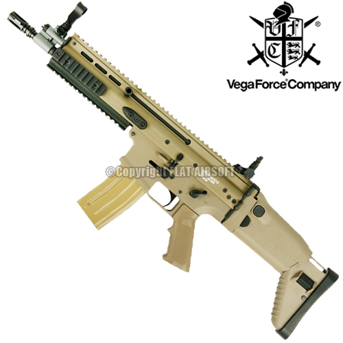 VFC 電動ガン SCAR-L MK16 CQC *日本仕様/タン色 【品番:VF1-MK16-TN81】