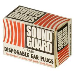 16112390-6 米軍放出品 NEW DYNAMICS製 SOUND-GUARDイヤープラグ *2個セット/イエロー色