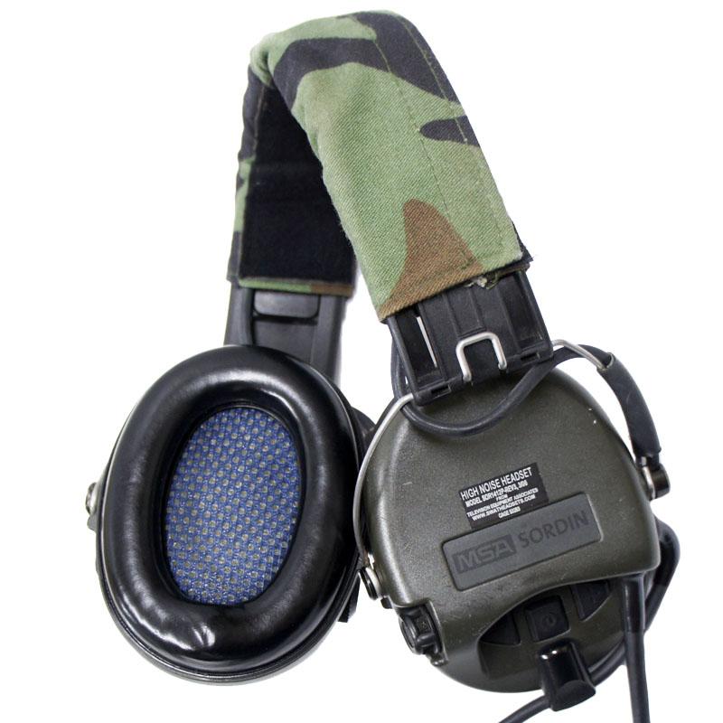 15091125 激レア!! TEA MICH-Maritime ハイノイズSORDINヘッドセット *TEA 10-pin PTT用/2006年製/ヘッドバンド/1本ケーブル/NAVY SEAL