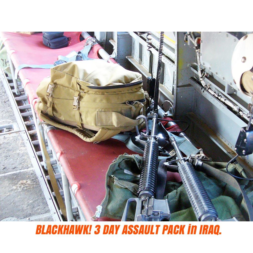 20080393 BLACKHAWK! 3DAY アサルトバックパック *コヨーテタン