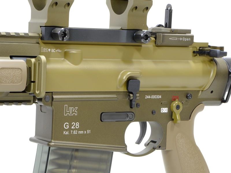 VFC 電動ガン UMAREX H&K G28 DMR H&K Licensed *タン/日本仕様/H&Kライセンス品/ガンケース付き DXリミテッド 【品番:VF1J-LG28-TN02】