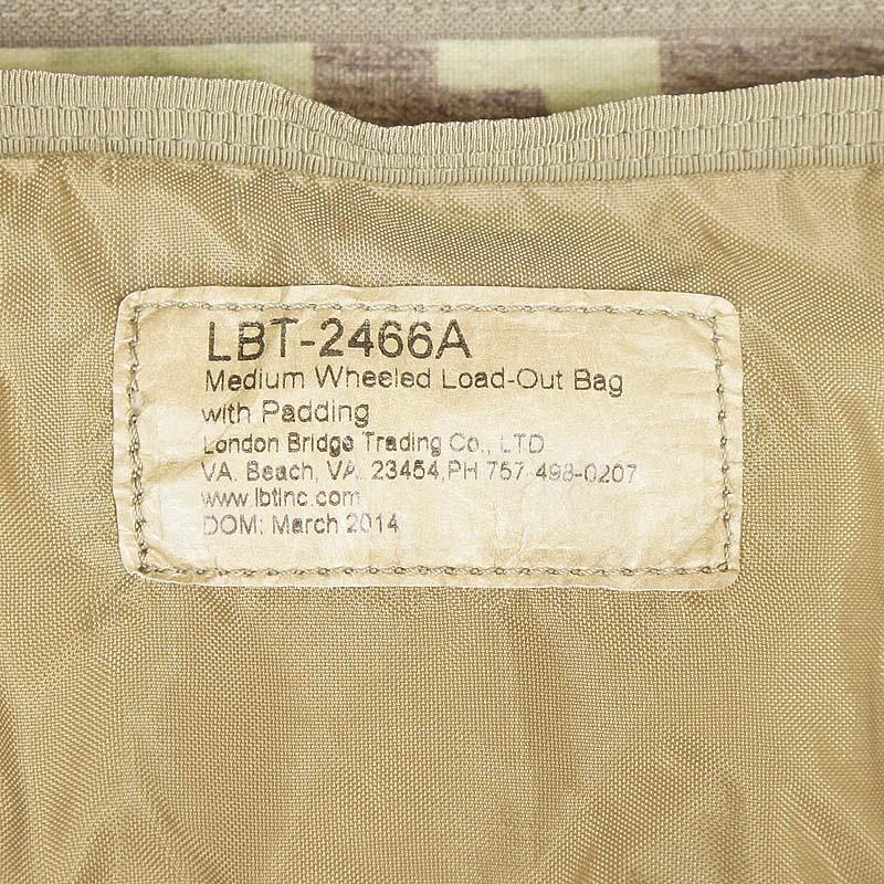レア!! LBT 2466A パッド入りミディアムロードアウトバッグ *PHC(MOH)カモフラージュ