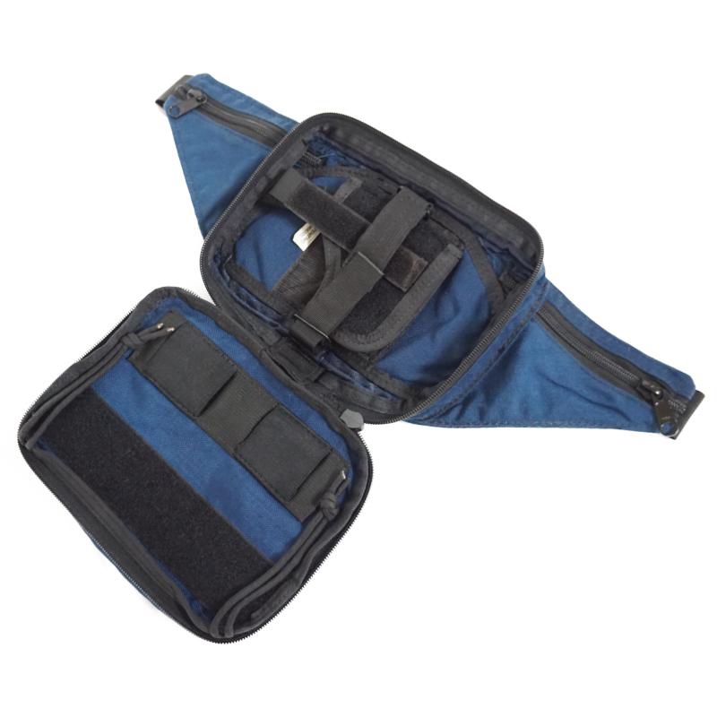 19019479 レア!! EAGLE ウェポンファニーパック *ブルー/1998年製バックル/中型オート用/右利き