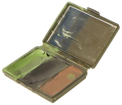 16112378 SEAL放出品 HUNTER'S SPECIALTIES製 3 Color Camo-Compac Make-Up Kit *3色/ウッドランドモデル
