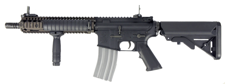 VFC 電動ガン COLT MK18 MOD1 COLT & Daniel Defense Licensed *日本仕様/限定「MILブラック」モデル 【品番:VF1-LMK18M1-BKSP】