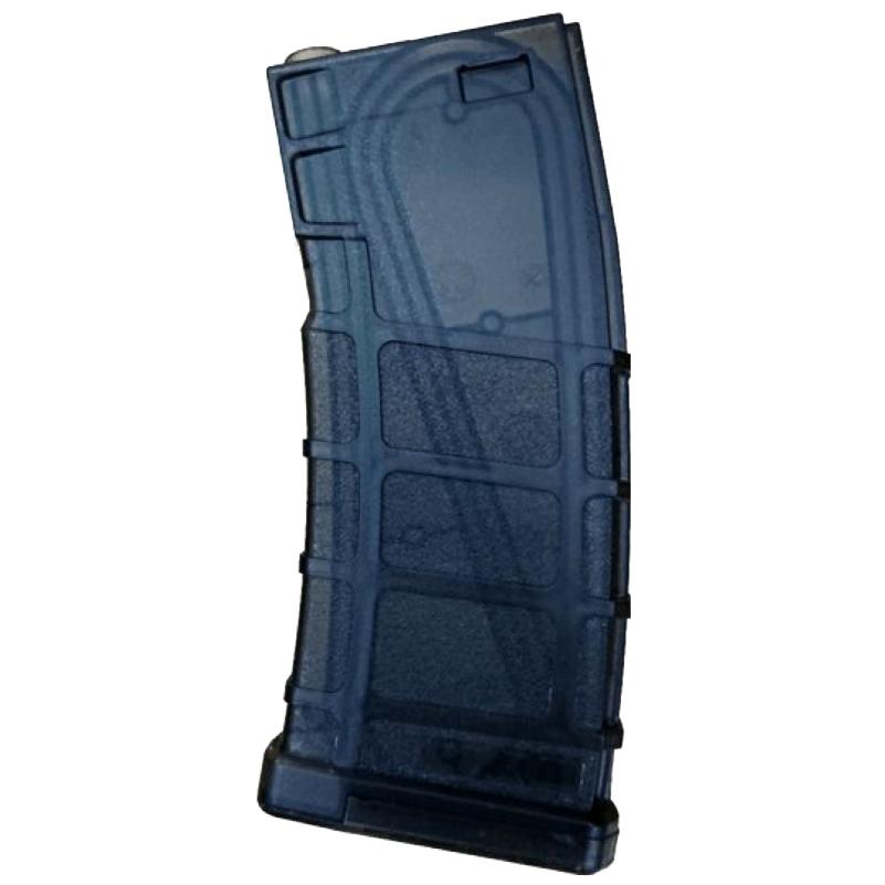 【ワケあり特価品】BOLT M4用 PMAGスタイル 140連 ポリマーマガジン シースルー・ブラック (BA065C) 【品番:BP0409C】 /●元箱破損
